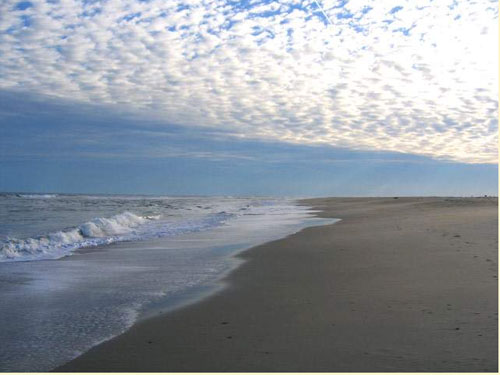Deserted Beaches on Virginia's EAstern Shore - Copy