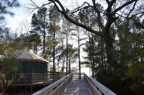 Kiptopeke State Park Yurt