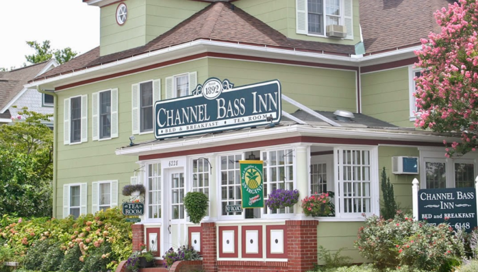 channel bass inn exterior