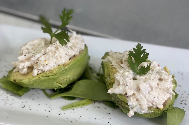 crab avacado
